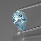 thumb image of 1.7ct Pear Facet Swiss Blue Topaz (ID: 442523)