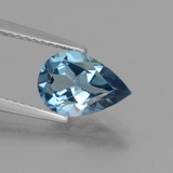 thumb image of 1.9ct Pear Facet London Blue Topaz (ID: 442558)