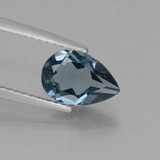 thumb image of 1.6ct Pear Facet London Blue Topaz (ID: 442587)