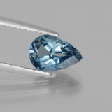thumb image of 1.8ct Pear Facet London Blue Topaz (ID: 442591)