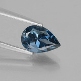 thumb image of 1.5ct Pear Facet London Blue Topaz (ID: 442594)