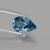 thumb image of 1.5ct Pear Facet London Blue Topaz (ID: 442597)