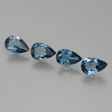 thumb image of 5.1ct Pear Facet London Blue Topaz (ID: 442649)