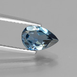 thumb image of 1.2ct Pear Facet London Blue Topaz (ID: 442664)