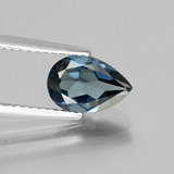 thumb image of 1.4ct Pear Facet London Blue Topaz (ID: 442671)