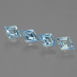 thumb image of 3.1ct Rhomb Facet Swiss Blue Topaz (ID: 442703)