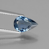 thumb image of 1.3ct Pear Facet London Blue Topaz (ID: 442715)