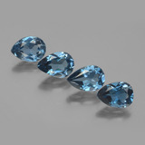 thumb image of 5.3ct Pear Facet London Blue Topaz (ID: 442733)