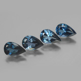 thumb image of 5.5ct Pear Facet London Blue Topaz (ID: 442734)