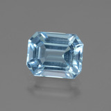 thumb image of 4.4ct Octagon Facet Swiss Blue Topaz (ID: 442745)