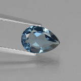 thumb image of 1.3ct Pear Facet London Blue Topaz (ID: 442749)