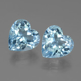 thumb image of 6.3ct Heart Facet Swiss Blue Topaz (ID: 442842)
