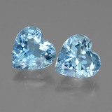 thumb image of 3ct Heart Facet Swiss Blue Topaz (ID: 442849)