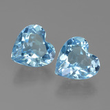 thumb image of 5.6ct Heart Facet Swiss Blue Topaz (ID: 442850)