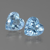 thumb image of 5.7ct Heart Facet Swiss Blue Topaz (ID: 442866)
