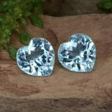 thumb image of 3.2ct Heart Facet Swiss Blue Topaz (ID: 442868)