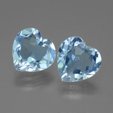 thumb image of 5.6ct Heart Facet Swiss Blue Topaz (ID: 442915)