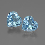 thumb image of 5.4ct Heart Facet Swiss Blue Topaz (ID: 442916)