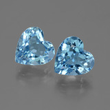 thumb image of 6.4ct Heart Facet Swiss Blue Topaz (ID: 442919)