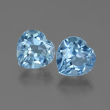 thumb image of 6.3ct Heart Facet Swiss Blue Topaz (ID: 442921)