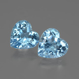 thumb image of 5.9ct Heart Facet Swiss Blue Topaz (ID: 442964)