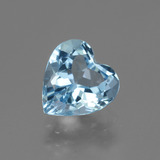 thumb image of 2.8ct Heart Facet Swiss Blue Topaz (ID: 442997)
