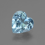 thumb image of 2.9ct Heart Facet Swiss Blue Topaz (ID: 443002)