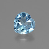 thumb image of 2.8ct Heart Facet Swiss Blue Topaz (ID: 443044)