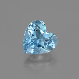 thumb image of 2.8ct Heart Facet Swiss Blue Topaz (ID: 443047)