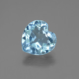 thumb image of 2.7ct Heart Facet Swiss Blue Topaz (ID: 443053)