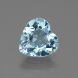 thumb image of 2.8ct Heart Facet Swiss Blue Topaz (ID: 443093)