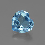 thumb image of 2.6ct Heart Facet Swiss Blue Topaz (ID: 443095)