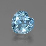 thumb image of 3.1ct Heart Facet Swiss Blue Topaz (ID: 443098)