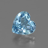 thumb image of 3ct Heart Facet Swiss Blue Topaz (ID: 443101)