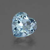 thumb image of 3.1ct Heart Facet Swiss Blue Topaz (ID: 443102)