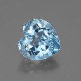 thumb image of 3.2ct Heart Facet Swiss Blue Topaz (ID: 443143)