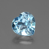thumb image of 2.7ct Heart Facet Swiss Blue Topaz (ID: 443145)