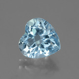 thumb image of 3.3ct Heart Facet Swiss Blue Topaz (ID: 443148)