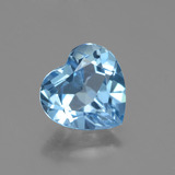 thumb image of 2.7ct Heart Facet Swiss Blue Topaz (ID: 443150)