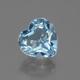 thumb image of 2.9ct Heart Facet Swiss Blue Topaz (ID: 443153)