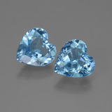 thumb image of 5ct Heart Facet Swiss Blue Topaz (ID: 443155)