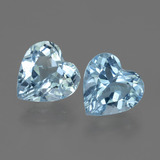 thumb image of 5.6ct Heart Facet Swiss Blue Topaz (ID: 443190)