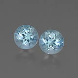 thumb image of 1.8ct Round Facet Swiss Blue Topaz (ID: 444133)