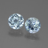 thumb image of 2ct Round Facet Swiss Blue Topaz (ID: 444203)