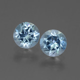 thumb image of 1ct Round Facet Swiss Blue Topaz (ID: 444204)