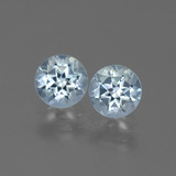 thumb image of 2ct Round Facet Swiss Blue Topaz (ID: 444402)
