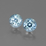 thumb image of 2ct Round Facet Swiss Blue Topaz (ID: 444403)