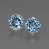 thumb image of 1.7ct Round Facet Swiss Blue Topaz (ID: 444522)