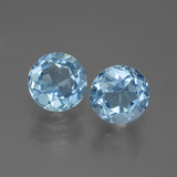 thumb image of 2.4ct Round Facet Swiss Blue Topaz (ID: 444525)