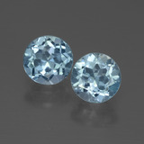 thumb image of 2.2ct Round Facet Swiss Blue Topaz (ID: 444584)